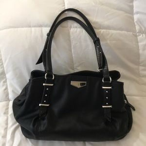 Simply Vera black slouchy purse